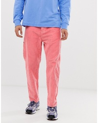 Pantalon chino rose Collusion