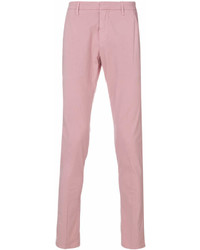 Pantalon chino rose Dondup