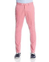 Pantalon chino rose Hackett London