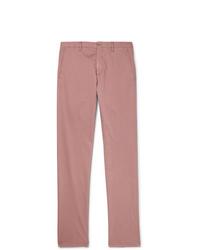 Pantalon chino rose Zanella