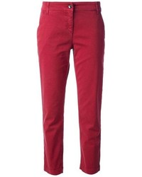 Pantalon chino rouge original 1494231