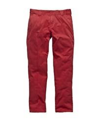 Pantalon chino rouge Dickies