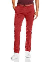 Pantalon chino rouge Scotch & Soda