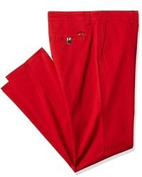 Pantalon chino rouge Spagnolo