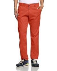 Pantalon chino rouge Timezone