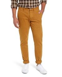 Pantalon chino tabac
