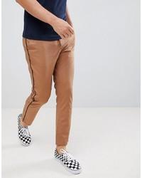 Pantalon chino tabac ASOS DESIGN