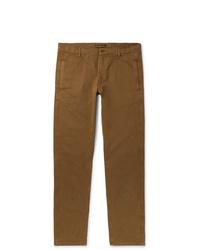 Pantalon chino tabac Aspesi