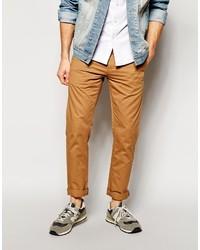 Pantalon chino tabac Bellfield