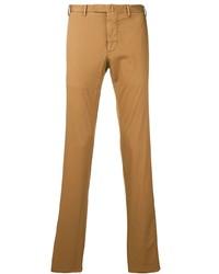Pantalon chino tabac Dell'oglio
