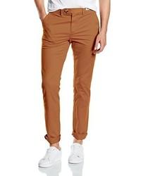 Pantalon chino tabac Tommy Hilfiger