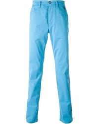 Pantalon chino turquoise Kenzo