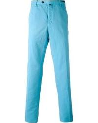 Pantalon chino turquoise