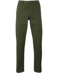 Pantalon chino vert foncé AMI Alexandre Mattiussi