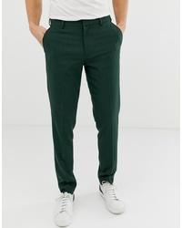 Pantalon chino vert foncé ASOS DESIGN