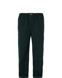Pantalon chino vert foncé Balenciaga