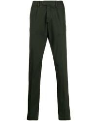Pantalon chino vert foncé Eleventy