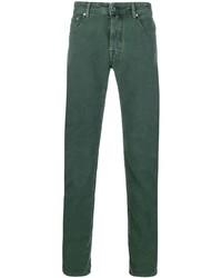 Pantalon chino vert foncé Jacob Cohen