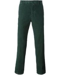Pantalon chino vert foncé Kiton