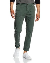 Pantalon chino vert foncé ONLY & SONS