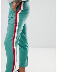 Pantalon chino vert menthe ASOS DESIGN