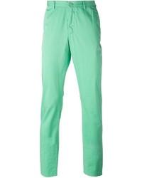 Pantalon chino vert menthe Etro