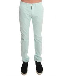 Pantalon chino vert menthe Jachs