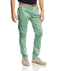 Pantalon chino vert menthe Tom Tailor