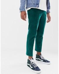 Pantalon chino vert ASOS DESIGN