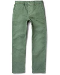 Pantalon chino vert Chimala