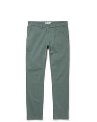 Pantalon chino vert Nn07