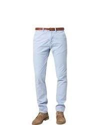 Pantalon chino violet clair