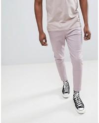 Pantalon chino violet clair Just Junkies
