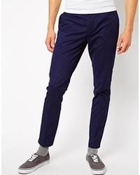 Pantalon chino violet