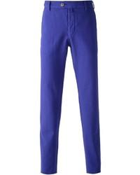 Pantalon chino violet Giorgio Armani