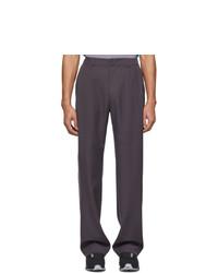 Pantalon chino violet Keenkee