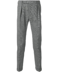 Pantalon de costume à carreaux noir et blanc Paul Smith