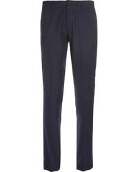 Pantalon de costume à rayures verticales bleu marine J.Crew