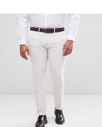Pantalon de costume beige ASOS DESIGN