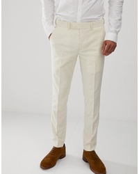 Pantalon de costume beige Farah Smart