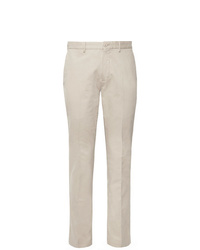 Pantalon de costume beige Incotex