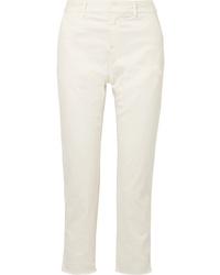 Pantalon de costume beige Nili Lotan