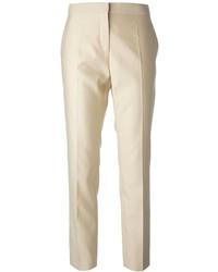 Pantalon de costume beige Salvatore Ferragamo