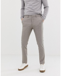 Pantalon de costume beige Selected Homme