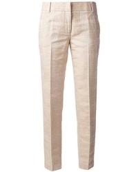 Pantalon de costume beige Tory Burch
