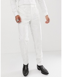 Pantalon de costume blanc ASOS Edition