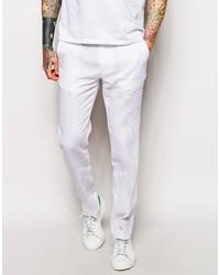 Pantalon de costume blanc Asos