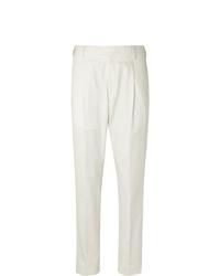 Pantalon de costume blanc Caruso