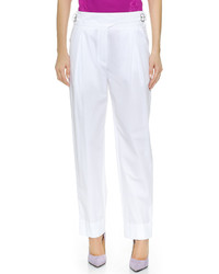 Pantalon de costume blanc Nina Ricci