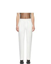 Pantalon de costume blanc Random Identities
